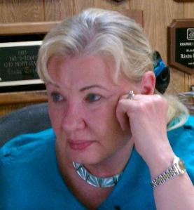 Linda Stewart-Rigo, co-owner of Stewart-Rigo Winery, copyright 2015 John J. Rigo